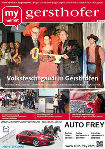 Die Februar-Ausgabe des gersthofers hier als E-Paper lesen