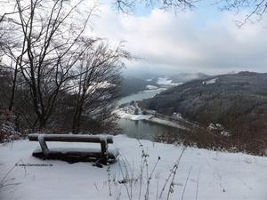 Winter am Diemelsee