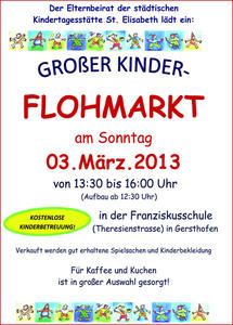 Groer Kinderflohmarkt in Gersthofen