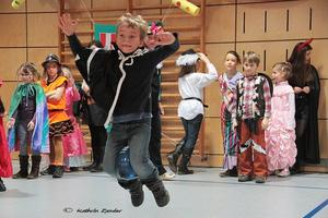 Kinderfasching in Langenreichen  Mit Helau und Alaaf in den Endspurt