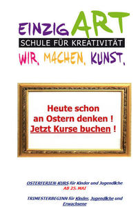 Neue Kunstschule in Eichenau : Kurse ab 8.4.2013