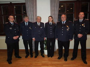 Jahreshauptversammlung der Feuerwehr Mllingen am 02.02.2013