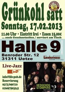 Grnkohl satt und Live-Jazz