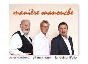 Sonntags-Matinee mit dem Trio 'manire manouche'