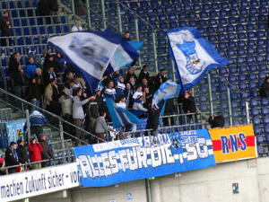 Hannover 96 - TSG Hoffenheim am 9.2. 2013