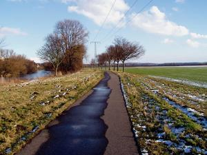 Spaziergang an der Saale bei Naumburg 10.02.2013