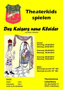 Auffhrung der Theaterkids des Theater- und Sportvereins Ltzelburg