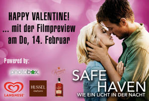 14.02. Valentinstagspreview im Cineplex Memmingen - SAFE HAVEN - WIE EIN LICHT IN DER NACHT