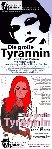 Die groe Tyrannin 'La Lupe' von Carlos Padrn. Regie Thomas Dentler.
