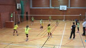 Gersthofens U14 Volleyball-Mdchen immer besser in Form