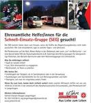 Ehrenamtliche Helfer/innen fr die Schnell-Einsatz-Gruppe (SEG) gesucht!