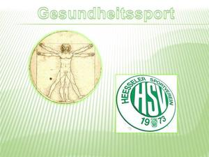 40 Jahre Heesseler SV: Gesundheitssport-Schnupperwoche vom 4.-8.Mrz 2013