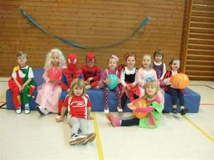 Fasching bei den Kindern des SV Frielingens (06. und 07.02.2013)