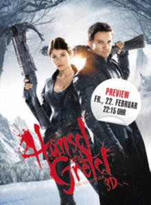 22.02. im Cineplex Memmingen - Hänsel & Gretel: Hexenjäger 3D-Preview