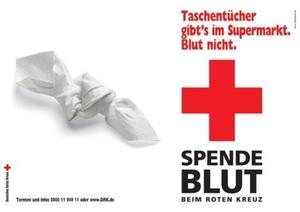 Blut spenden - Leben retten!