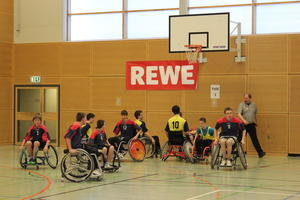 Rollstuhlbasketball Turnier in der IGS Kronsberg (Leistungsgruppe A)