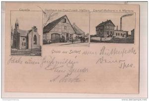 Postkarte Suttorf 1904