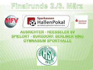 40 Jahre Heesseler SV : NFV-Fuball-Junioren-Hallenendrunde um den SPARKASSEN-CUP beim HSV!