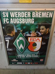 Werder Bremen - FC Augsburg (Vor-whrend-danach)