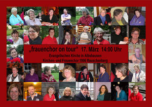 Frauenchor 'on tour'