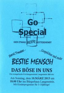 Go Special in Langenstein