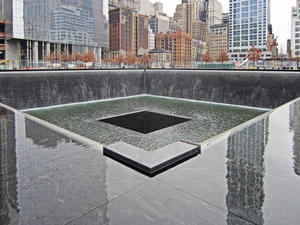 01.03.2012. New York III. - USA. World Trade Center Site, auch Ground Zero New York genannt.  Video.