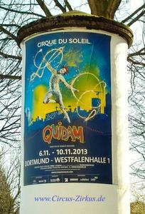 Cirque du Soleil wieder in Dortmund