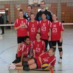 U14-Volleyballerinnen beenden Saison auf Tabellenplatz 3