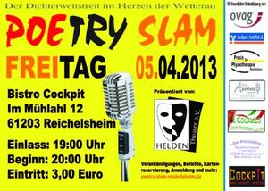 Cockpit Slam No. 9 - Poetry Slam Reichelsheim