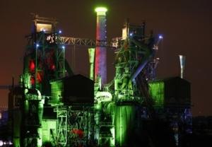 Landschaftspark Duisburg-Nord: Licht aus zur Earth Hour 2013