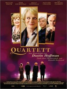 """Quartett"" am 13.03. um 15.00 Uhr im Cineplex Memmingen - Dustin Hoffmans Regiedebut"
