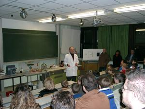 Informationsabend fr die 5. Klassen in der Knabenrealschule Heilig Kreuz