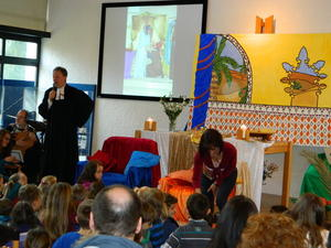 Die Audienz beim Knig - Abschlussgottesdienst der Kinder-Bibel-Woche 2013 in Knigsbrunn