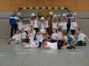 Fuballtag an der Grundschule Steppach