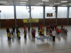 Strahlende Kinderaugen beim Burgberg-Cup 2013