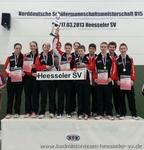 Badmintonteam Heesseler SV : U15 Mannschaft wird Norddeutscher Schlermannschaftsmeister nach Krimi im Finale !