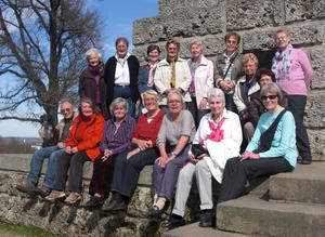 Doppeljubilum der Frauenwandergruppe Neus im April 2013