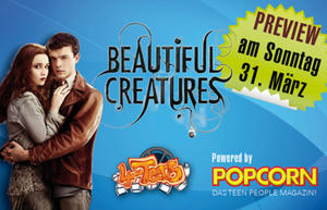 31.03. 4-Teens-Preview im Cineplex Memmingen - BEAUTIFUL CREATURES - EINE UNSTERBLICHE LIEBE