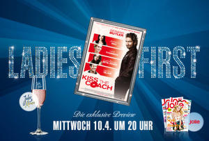 10.04. Ladies First im Cineplex Memmingen - KISS THE COACH