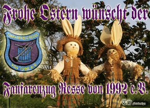 Fanfarenzug Resse von 1992 e.V. wnscht frohe Ostern!!!