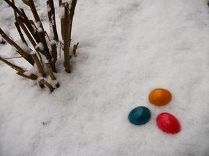 2013 - Ostern im Schnee