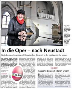Das Opernensemble Incanto gastiert in Neustadt am Rbenberge