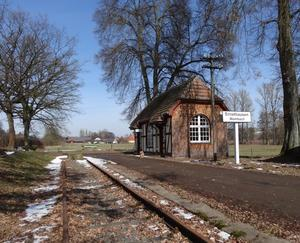 ehemaliger Bahnhof in Ernsthausen-Wambach