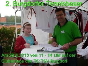 2. 'Burgdorfer Tennis-Basar'