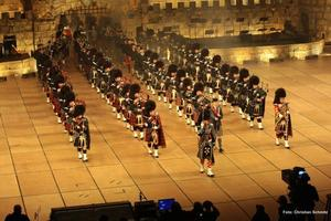 Alba Pipe Band in Apeldoorn