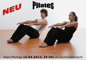 !!! Neu  !!! Pilates ab dem 15.04.2013 beim TSV-Steppach e.V.