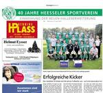 40 Jahre Heesseler SV: Erfolgreiche Fuballerausbildung & Halleneinweihung !