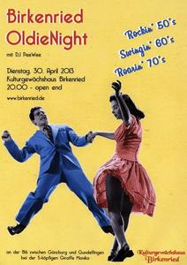 4. Birkenried Oldie Night am 30. April mit DJ PeeWee