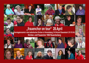 'Frauenchor on tour'  -   Sonntagskonzert