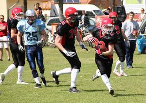 Kick-Off fr die Potsdam Royals am 27. April